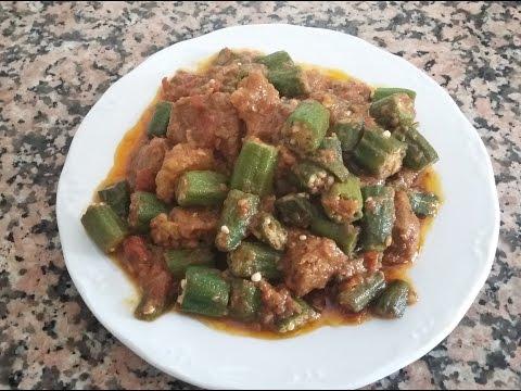 Bhindi Gosht - Zahida Cooking