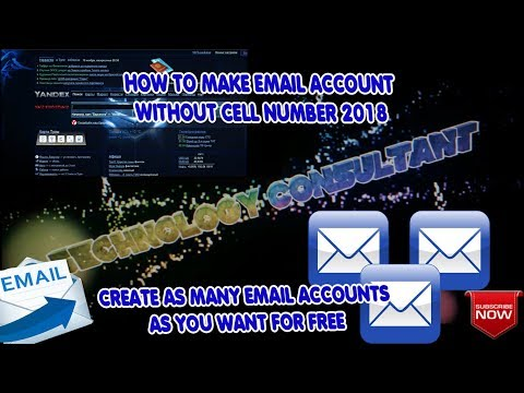 HOW TO MAKE EMAIL ACCOUNT WITHOUT CELL NUMBER | CREATE EMAIL ACCOUNTS WITHOUT VERIFICATION 2018✔