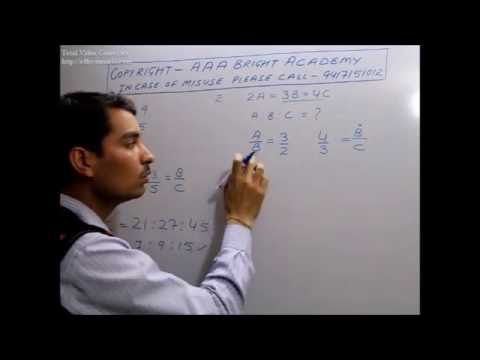 How To Calculate Ratio Problems (Solving Ratios Problems & Examples)- Maths Tricks