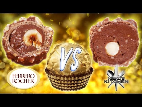 FERRERO ROCHER VS HOMEMADE - Mother In Laws GO NUTS!