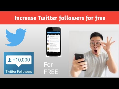 Best and easiest way to increase followers on TWITTER