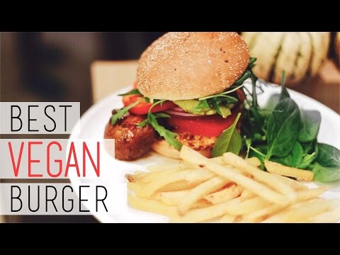 How To Make the Tastiest Veggie Burger ♣︎ Tofu & Mushroom