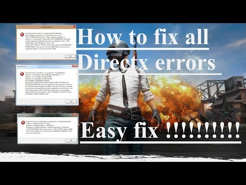 How to fix ALL DirectX errors when you run a game windows XP/7/8/8.1/10 EASY TUTORIAL !!