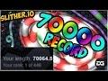 SLITHER.IO WORLD RECORD ( YOUTUBE ) HIGHSCORE Agar.io 2 ...