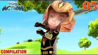 Vir : The Robot Boy | Vir Action Collection - 5 | Action series | WowKidz Action