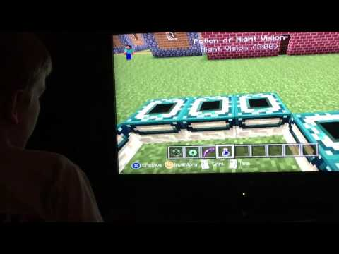 How to build an end portal on Minecraft Xbox 360