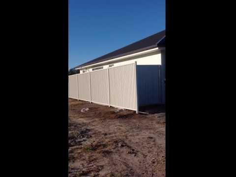 Heal Steel Fence   Bluescope Steel   Colorbond® Steel