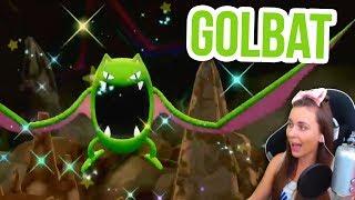 SHINY GOLBAT in Rock Tunnel | Pokémon Let