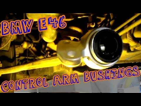 E46 325i Front Control Arm Bushing Replacement - Shadetree Mechanic How To