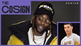 2 Chainz Reacts To Rapping NBA Stars (Lonzo Ball, Damian Lillard, Iman Shumpert) | The Cosign