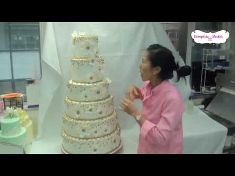 Gold Dazzler Birthday/Wedding Cake