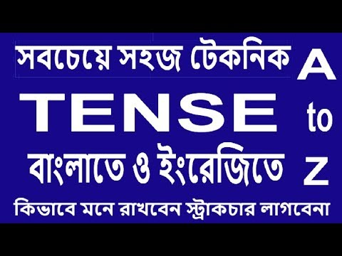 How to Understand  Tense Easily  for English Speaking & Writing by Technical English learning home