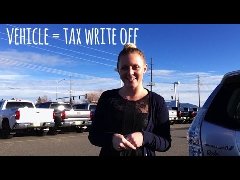 Small Business Vehicle Tax Write-Off