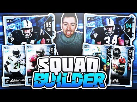 ALL OOP *OUT OF POSITION* PLAYER LINEUP! Madden 18 Squad Builder