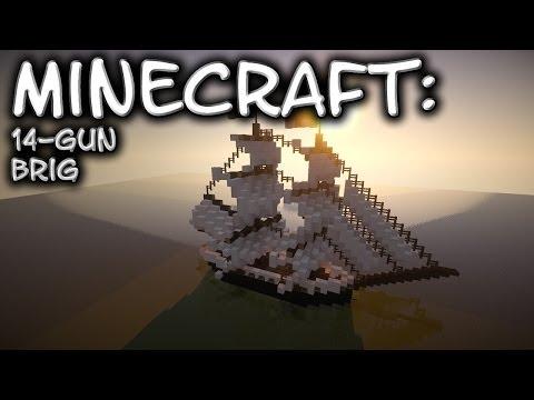 Minecraft: 14-Gun Brig Tutorial