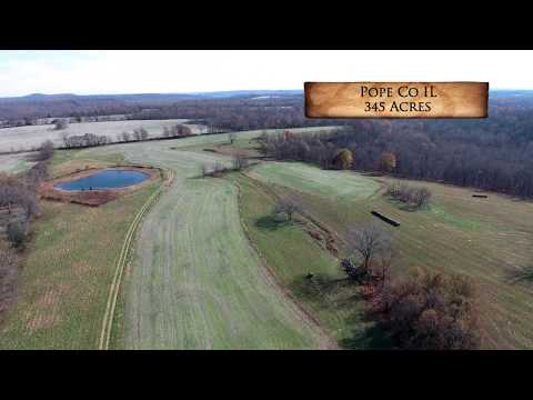 Excellent 345 Acre Hunting and Investment Farm For Sale in Pope County, IL