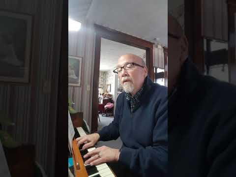 Away in a Manger Jerry on Piano