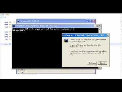 Assembly programming Tutorial - 3 - Hello World!