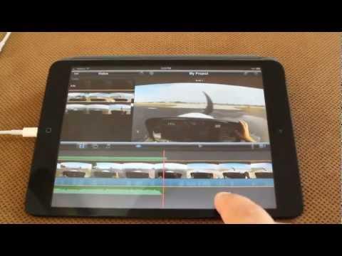 iMovie on iPad Mini - Tips And Tricks GoPro video