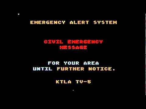Fake Nuke Alert Prank (Los Angeles)