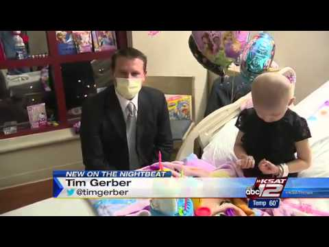 Facebook followers helping local 4-year-old girl complete bucket list