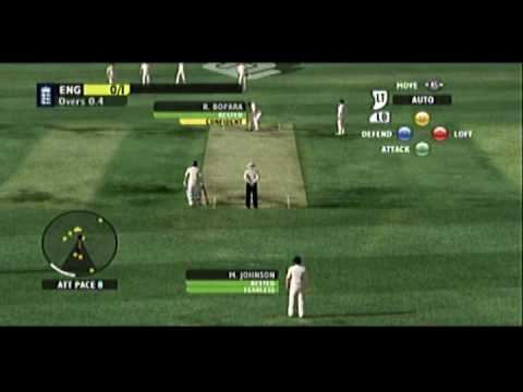 Ashes Cricket 2009 England vs. Australia (Xbox 360 Gameplay/Review)