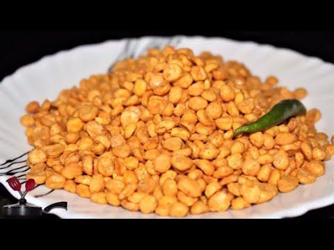 Crispy Chana Dal Namkeen in Hindi   Chatpata Chana dal Namkeen