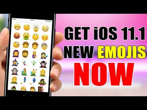 Get The NEW iOS 11 Emojis NOW - No Jailbreak