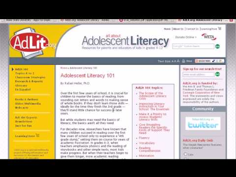 Citing Websites using MLA 7th edition