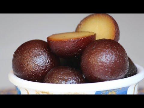 होली पर बनाये Gulab Jamun - Khoya Gulab Jamun recipe - गुलाब जामुन बनाने का आसान तरीका