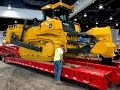John Deere's  biggest bulldozer moving out of Conexpo 2017