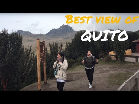 QUITO ATTRACTIONS -  TELEFERICO - best view point of the city