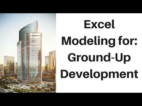 Financial Modeling 101: Real Estate Construction Loan for Ground-up Development