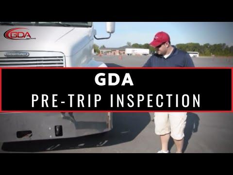 GDA Training Pre-Trip Inspection