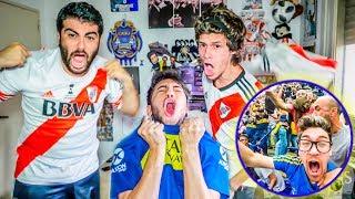 Boca vs River | FINAL Copa Libertadores 2018 | Reacciones de Amigos