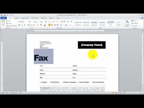 6-Word 2010 Fundamentals  - The File Tab (2)