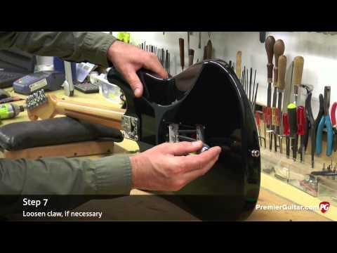 DIY - How to Float a Strat Trem