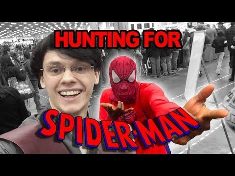 VLOG - Spider-man Hunting at Dallas Fan Expo