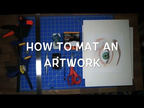 How To Mat an Artwork