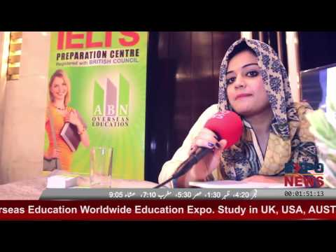 ABN Overseas Education Pvt. Ltd ABN Worldwide Education Expo 2016 in Lahore.