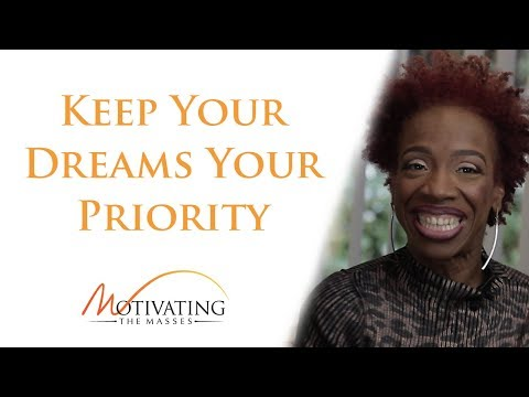 Lisa Nichols - Keep Your Dreams Your Priority
