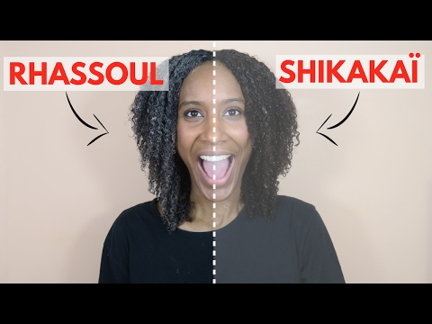 THE DIFFERENCE between RHASSOUL CLAY and SHIKAKAI POWDER