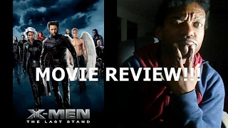 X MEN: THE LAST STAND REVIEW!!!!