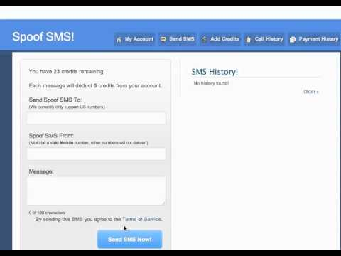 How to Spoof or fake your text or SMS number. Change your caller ID