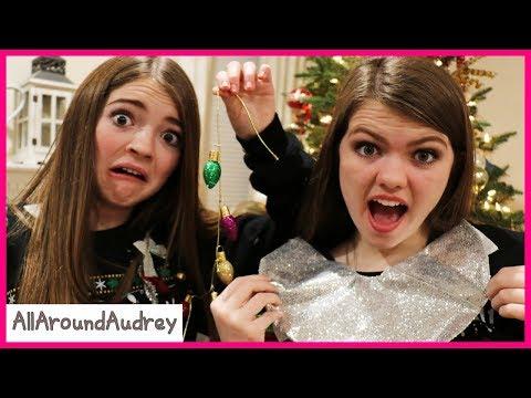 DIY Ugly Christmas Sweater Challenge / AllAroundAudrey