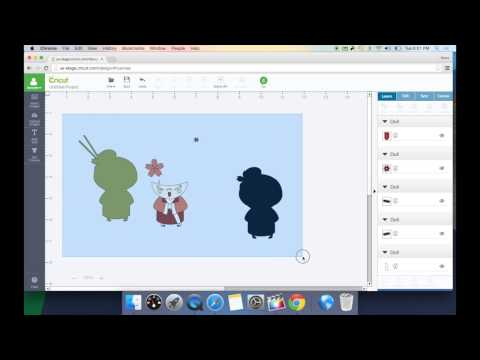 Cricut Design Space 2.0 - How To Upload Vector Files(SVG, DXF)