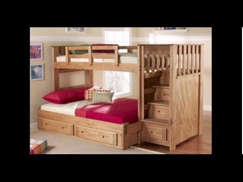 how to make a really cool bunk bed in Minecraft !!!!