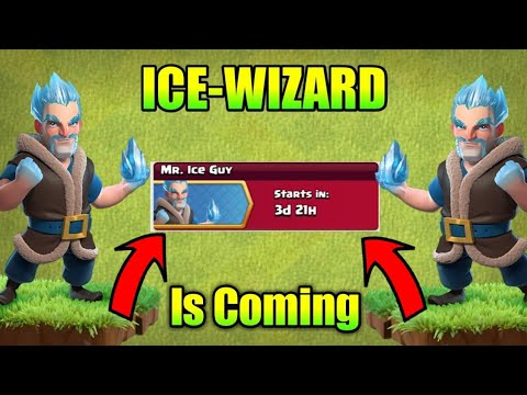 Ice-Wizard is Back ; Mr. Ice Guy Event Clash of clans christmas update 2017!