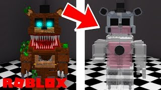 Roblox Custom Night Rp How To Unlock Shadow Scraptrap Sc 8 In Roblox Fredbear And Friends Family Restaurant