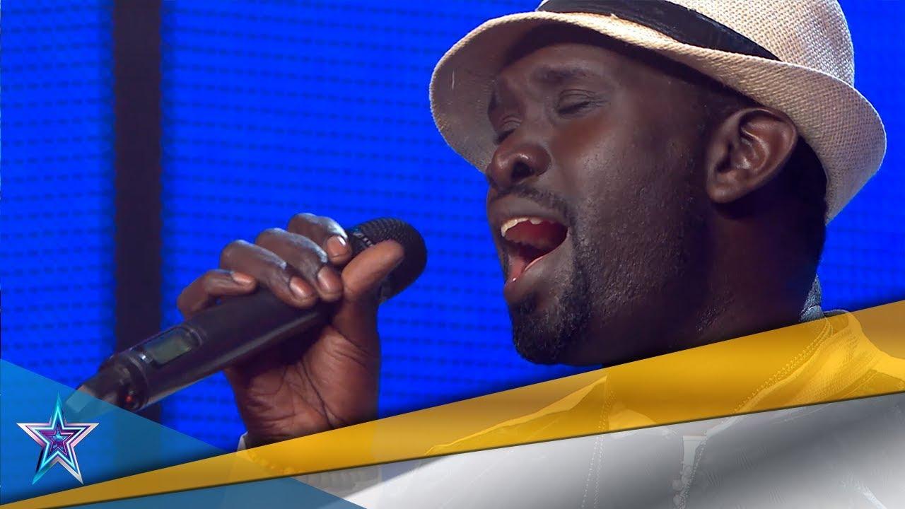 ¡Menuda VOZ! ¡Este SENEGALÉS consigue un PASE DE ORO!   Audiciones 7   Got Talent España 5 (2019)
